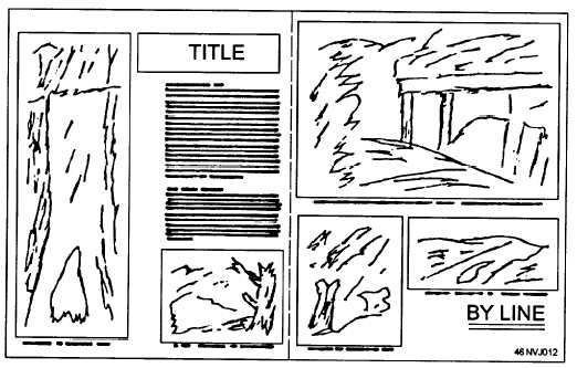 Figure 1 8 Thumbnail Sketch For A Double Page Layout